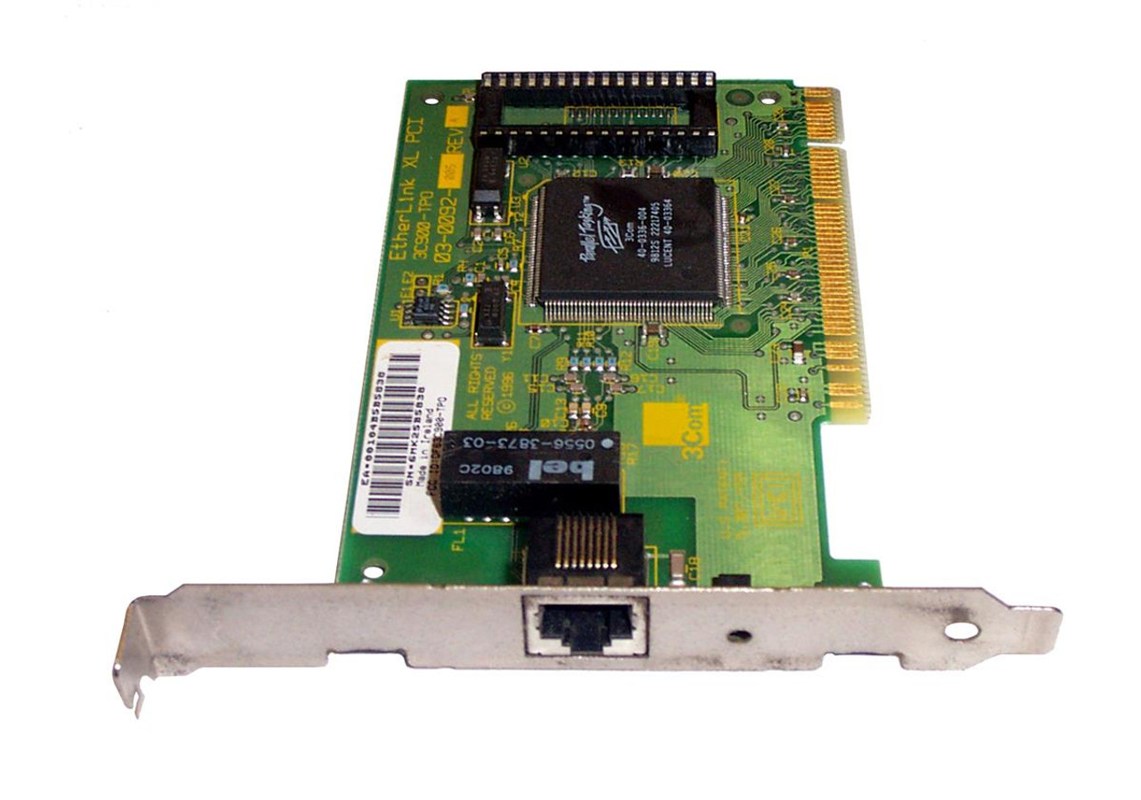 3Com EtherLink 10 PCI Fiber Network Interface Card 3C900B-FL(ST) Download Drivers