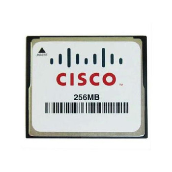 MEM-CF-256MB= Cisco 256MB CompactFlash (CF) Memory Card