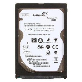 ST250LT021 Seagate 250GB 7200RPM SATA 3.0 Gbps 2.5 16MB Cache Momentus Hard Drive