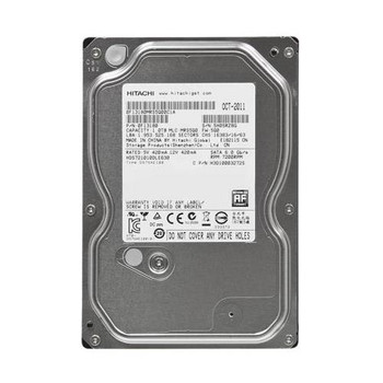 HDS721010DLE630 Hitachi 1TB 7200RPM SATA 6.0 Gbps 3.5 32MB Cache Deskstar Hard Drive