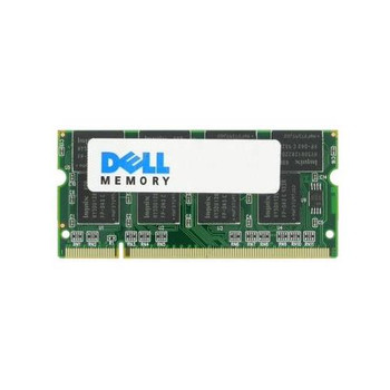 A55373334 Dell 1GB DDR SoDimm Non ECC PC-2700 333Mhz Memory