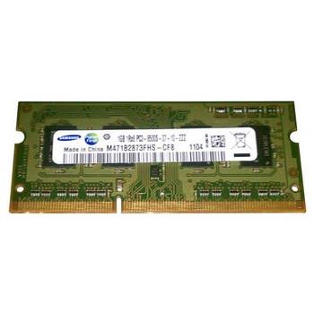 M471B2873FHS-CF8 Samsung 1GB DDR3 SoDimm Non ECC PC3-8500 1066Mhz 1Rx8 Memory