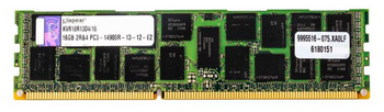 KVR18R13D4/16 Kingston 16GB DDR3 Registered ECC PC3-14900 1866Mhz 2Rx4 Memory
