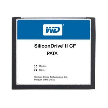 SSD-C08GI-4300 Western Digital SiliconDrive II 8GB ATA/IDE (PATA) CompactFlash (CF) Type I Internal Solid State Drive (SSD) (Industrial Grade)