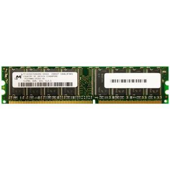 MT16VDDT6464AG-335G4 Micron 512MB DDR Non ECC PC-2700 333Mhz Memory