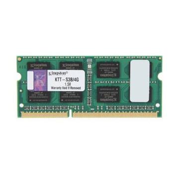 KTT-S3B/4G Kingston 4GB DDR3 SoDimm Non ECC PC3-10600 1333Mhz 2Rx8 Memory