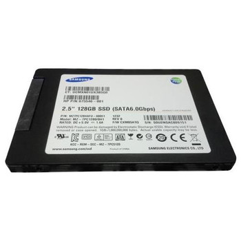 MZ7PC128HAFU-000H1 Samsung PM830 Series 128GB MLC SATA 6Gbps 2.5-inch Internal Solid State Drive (SSD)