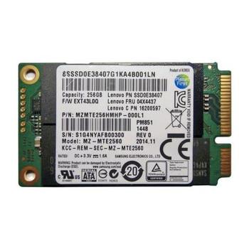 MZMTE256HMHP-000L1 Samsung PM851 Series 256GB TLC SATA 6Gbps mSATA Internal Solid State Drive (SSD)