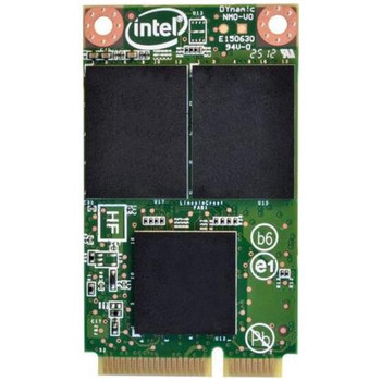 SSDMCEAC180B301 Intel 525 Series 180GB MLC SATA 6Gbps (AES-128) mSATA Internal Solid State Drive (SSD)