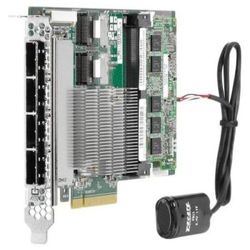 643379-001 HP Smart Array P822 2GB SAS 6Gbps / SATA 6Gbps PCI Express 3.0 x8 0/1/5/6/50/60 RAID Controller Card