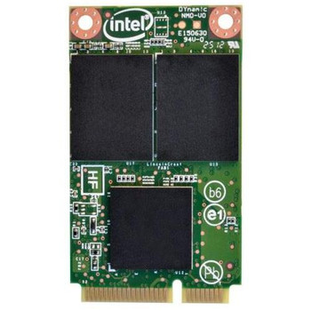SSDMCEAC180B3 Intel 525 Series 180GB MLC SATA 6Gbps (AES-128) mSATA Internal Solid State Drive (SSD)