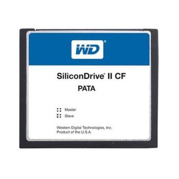 SSD-C12MI-4610 Western Digital SiliconDrive II 128MB ATA/IDE (PATA) CompactFlash (CF) Type I Internal Solid State Drive (SSD) (Industrial Grade)