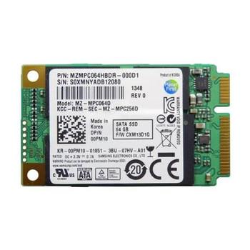 MZ-MPC064D Samsung PM830 Series 64GB MLC SATA 6Gbps mSATA Internal Solid State Drive (SSD)