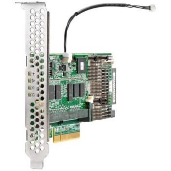 820834-B21 HP Smart Array P440 2GB Cache Single Port SAS 12Gbps / SATA 6Gbps PCI Express 3.0 x8 RAID 0/1/5/6/10/50/60/1ADM/10ADM Controller Card FBWC