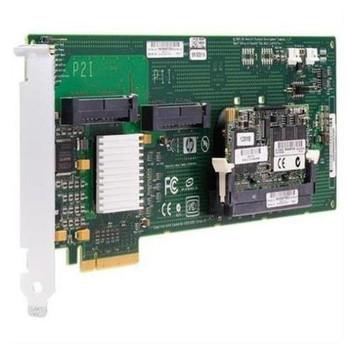 411756-001 HP Smart Array E200i PCI-Express x4 Serial Attached SCSI (SAS) 64MB Cache RAID Controller Card for HP ProLiant DL360/DL365 G5 Server