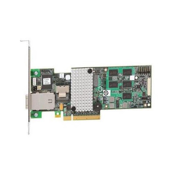 RS2MB044 Intel 512MB Cache 8-Port SAS 6Gbps / SATA 6Gbps PCI Express 2.0 x8 Low Profile MD2 RAID 0/1/5/6/10/50/60 Controller Card
