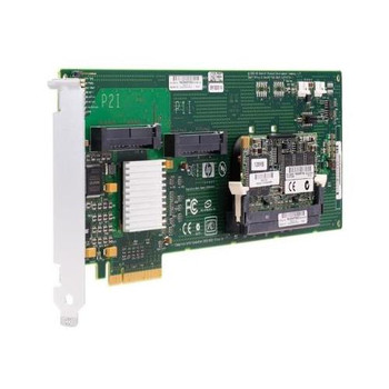 411510-001 HP Smart Array E200 PCI-Express 8-Port Serial Attached SCSI (SAS) RAID Controller Card with 128MB Cache Memory
