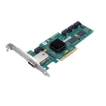 SAS3442X-R LSI Logic 8-Port SAS 3Gbps / SATA 3Gbps 64-Bit 133MHz PCI-X MD2 Low Profile RAID 0/1/1E/10E Controller Card