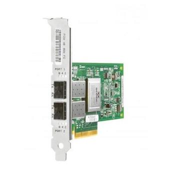 AJ764A HP StorageWorks 82Q Dual Port Fibre Channel 8Gbps PCI Express 2.0 x4 HBA Controller Card