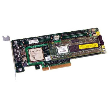 013160-000 HP Smart Array P400 PCI-Express 8-Channel Serial Attached SCSI (SAS) RAID Controller Card with 256MB BBWC (Battery Backed Write Cache)