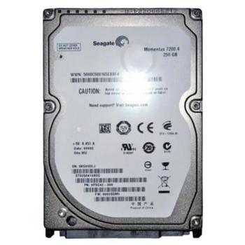 ST9250410ASG Seagate 250GB 7200RPM SATA 3.0 Gbps 2.5 16MB Cache Momentus Hard Drive