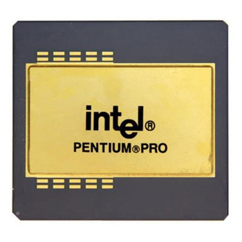 KB80521EX200 Intel Pentium Pro 1 Core 200MHz Socket 8 512 KB L2 Processor