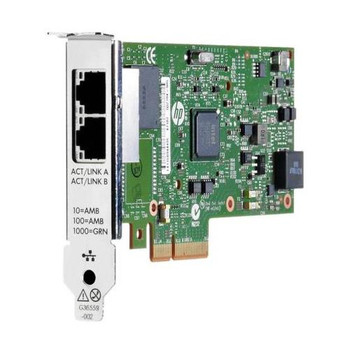 C3N37AA HP 361T PCIe 2-Port Gigabit Network Interface Card 2 x Network (RJ-45) Twisted Pair Full-height Low-profile