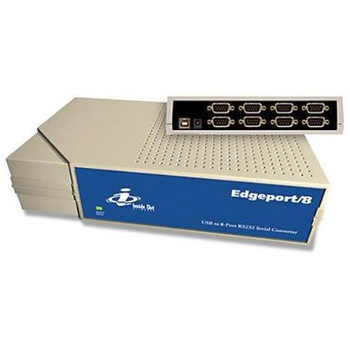 301-1002-08 Digi Edgeport/8 8-Ports USB to Serial DB9M Converter (Refurbished)