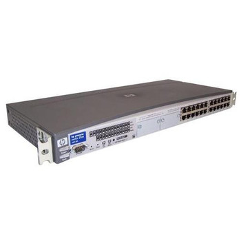 J4813A#ABB HP ProCurve Switch 2524 Ethernet 10/100Base-T 24-Ports Managed (Refurbished)