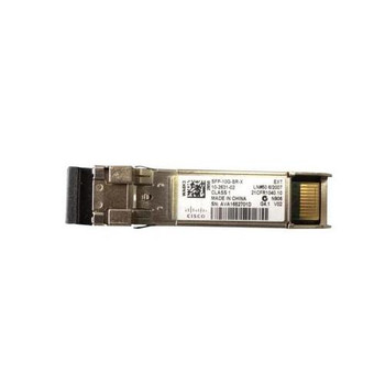SFP-10G-SR-X Cisco 10Gbps 10GBase-SR Multi-mode Fiber 300m 850nm LC Duplex Connector SFP+ Transceiver Module