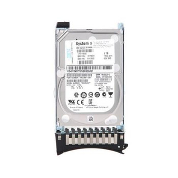 00AJ136 Lenovo 500GB 7200RPM SATA 6.0 Gbps 2.5 64MB Cache Hot Swap Hard Drive