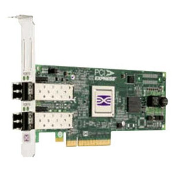 LPE12002-E EMC Emulex LPe12002 Dual-Ports 8Gbps Fibre Channel PCI Express 2.0 x8 Low Profile MD2 Host Bus Network Adapter