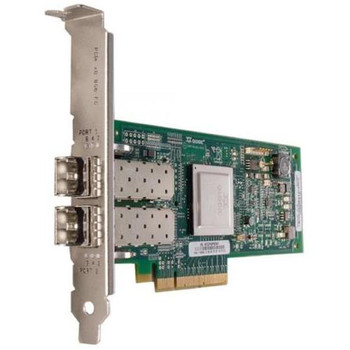 QLE2562-CK QLogic Dual-Ports 8Gbps Fibre Channel to PCI Express Host Bus Network Adapter
