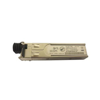 3CSFP86 3Com 100Mbps 100Base-BX Single-mode Fiber 15km 1310nmTX/1550nmRX LC Connector SFP (mini-GBIC) Transceiver Module