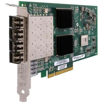 QLE2564-CK QLogic QLE2564 8Gbps Quad-Port PCI Express 2.0 Fibre Channel Host Bus Network Adapter
