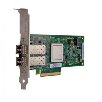 QLE2562-SP QLogic PCI Express 5.0GHz/2.5GHz x4/x8 8-Gbps Dual-Port Fibre Channel Host Bus Adapter (HBA)