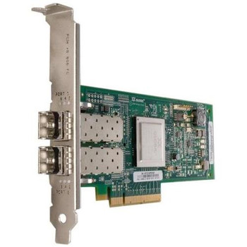 QLE2562 QLogic Dual-Ports 8Gbps Fibre Channel to PCI Express Host Bus Network Adapter without SFP