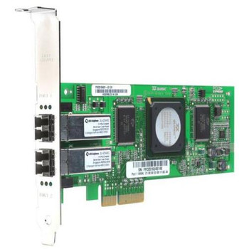 PX2510401-55 QLogic SANBlade 4GB Dual Ports Fibre Channel PCI Express Network Adapter