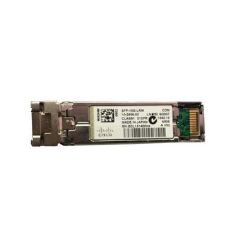 SFP-10G-LRM Cisco 10Gbps 10GBase-LRM Multi-mode Fiber 220m 1310nm Duplex LC Connector SFP+ Transceiver Module