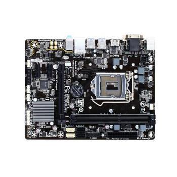 GA-H81M-S2H Gigabyte Ultra Durable Desktop Motherboard Intel H81 Chipset Socket H3 LGA-1150 (Refurbished)