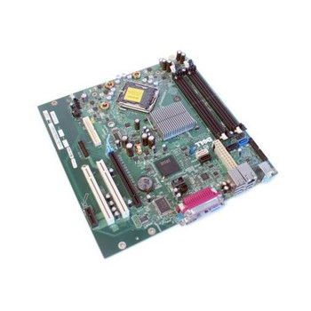 GX832 Dell System Board (Motherboard) for Optiplex 745C 745 755 (Refurbished)