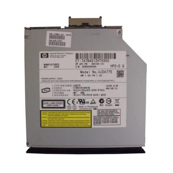 398149-131 HP 24X24X24X8X CD-RW/DVD-ROM IDE Slimline Combo Optical Drive For HP Business Notebook