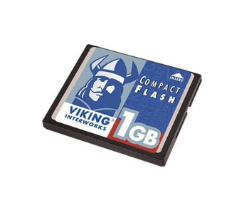 CF1GB-INS Viking 1GB CompactFlash (CF) Memory Card