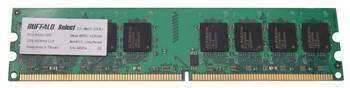 D2U800C-2G/BJ Buffalo 2GB DDR2 Non ECC PC2-6400 800Mhz Memory