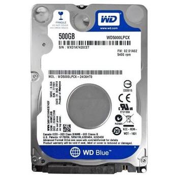 WD5000LPCX-24C6HT0 Western Digital 500GB 5400RPM SATA 6.0 Gbps 2.5 8MB Cache Hard Drive