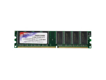 PSD5124001 Patriot 512MB DDR Non ECC PC-3200 400Mhz Memory