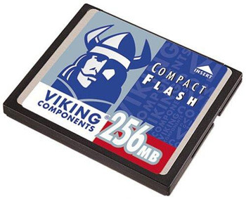 CF-256MB Viking 256MB CompactFlash (CF) Memory Card