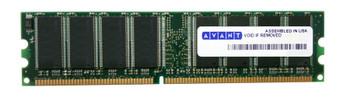 AVM6428U53C3400K1 Avant 1GB DDR Non ECC PC-3200 400Mhz Memory