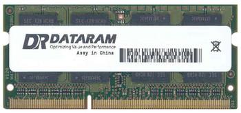 DRHMW8760A/8GB Dataram 8GB DDR3 SoDimm Non ECC PC3-12800 1600Mhz 2Rx8 Memory