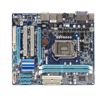 GA-H55M-D2H Gigabyte Socket LGA1156 Intel H55 Express Chipset micro-ATX Motherboard (Refurbished)